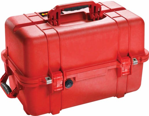 Pelican Red Mobile Tool Chest