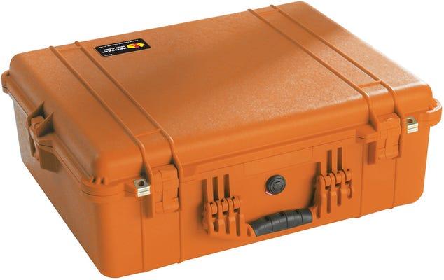 Pelican 1600 EMS Orange Case