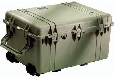 Pelican 1630 Olive Green Transport Case with Foam