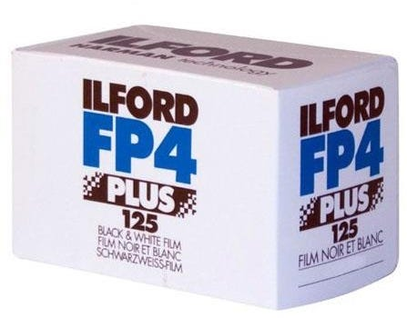 Ilford FP4 Plus 125 ISO 35mm 24 Exposure - Black & White Negative Film