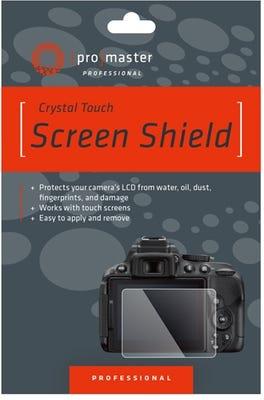 ProMaster Crystal Touch Screen Shield - Pana G9, GX85, FX2000, FZ2500, FZ300, LX10