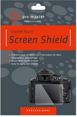 ProMaster Crystal Touch Screen Shield - Pana TZ110 TZ220, TZ80, TZ90, LX100