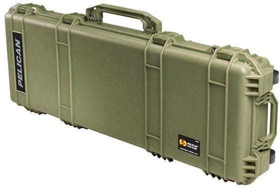 Pelican 1720 Olive Green Transport Case with Foam