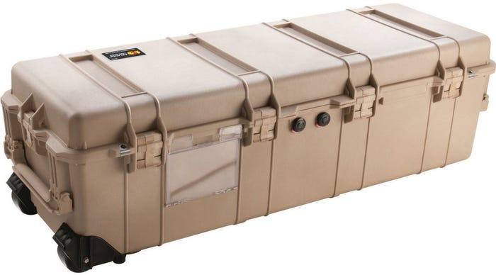 Pelican 1740 Desert Tan Weapons Transport Case