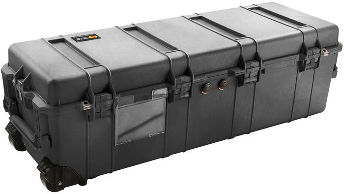 Pelican 1740 Black Weapons Transport Case with Foam