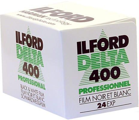 Ilford Delta 400 ISO Professional 35mm 24 Exposure - Black & White Negative Film