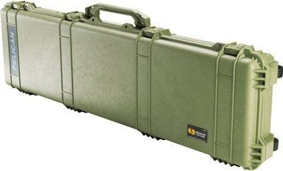 Pelican 1750 Olive Green Weapons Case with Foam
