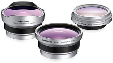 Olympus 3CON-P01 3-in-1 Set Converter Kit for micro 4/3rd Lens