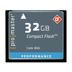ProMaster CF Performance 32GB 500x 75MB/s Memory Card