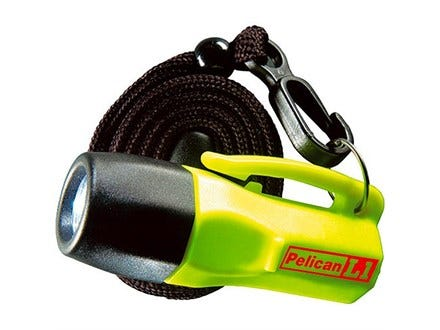 Pelican L1 LED Yellow with Torch with Switch