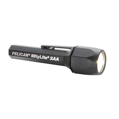 Pelican MityLite Black LED Torch - Carded