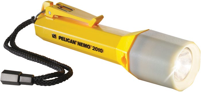 Pelican Nemo Yellow Xenon Torch - Carded