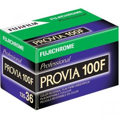 Fujifilm Fujichrome Provia 100F RDPIII 35mm 36 Exposure - Pro Colour Transparency Film