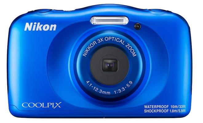 Nikon Coolpix W150 Blue Digital Compact Camera