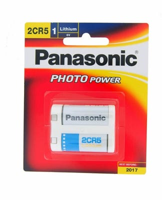 Panasonic 2CR5 6V Lithium Battery