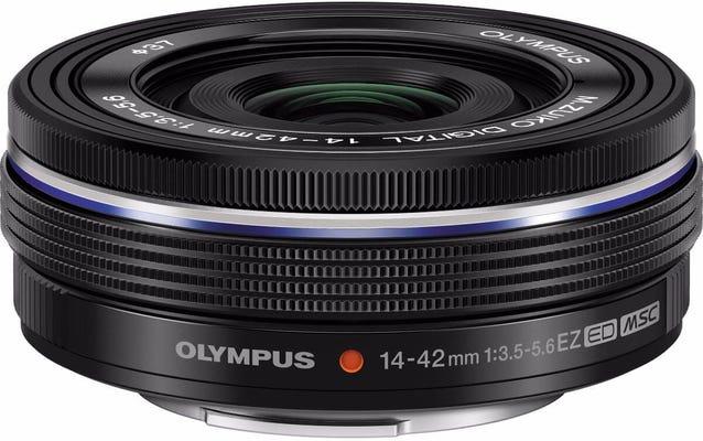 Olympus 14-42mm f/3.5-5.6 EZ Black Lens