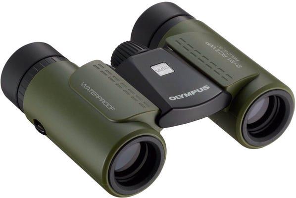 Olympus 8x21 RC II Waterproof Green Binocular