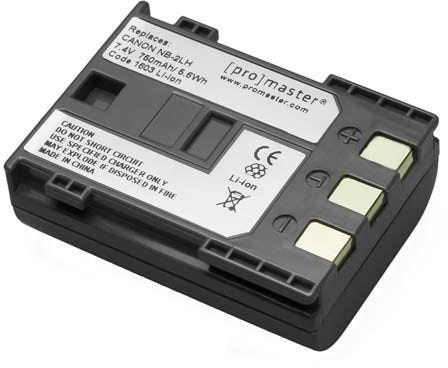 ProMaster Canon NB-2LH Battery
