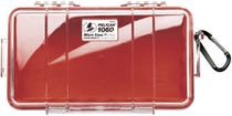 Pelican 1060 Micro Clear Case with Red Liner