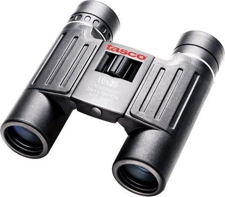 Tasco Essentials 10x25 Compact Roof Prism Binocular