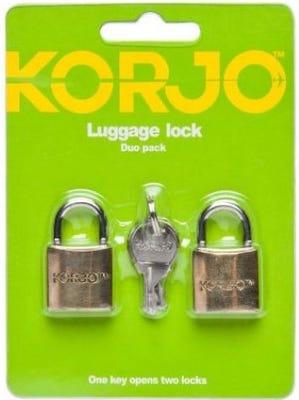 Korjo Luggage Lock - Duo Pack