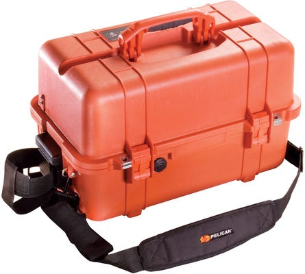 Pelican 1460 EMS Orange Case - No Foam