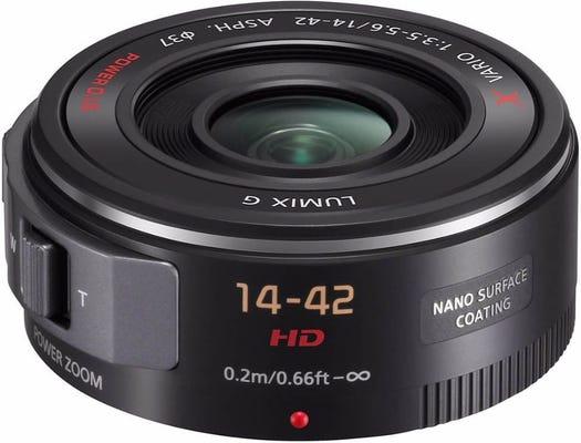 Panasonic Lumix G X Vario 14-42mm f/4-5.6 Power Zoom - Black Lens