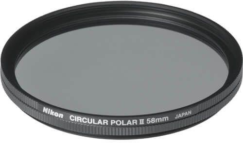 Nikon 58mm Series II Circular Polariser Filter