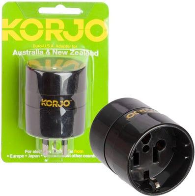 Korjo Euro/USA for Aus/NZ Adaptor