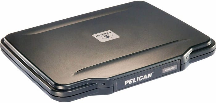 "Pelican 10"" iPad Hardback Case with Black Liner"