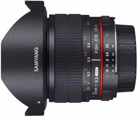 Samyang 8mm f/3.5 Fisheye UMC II - Canon EF APS-C