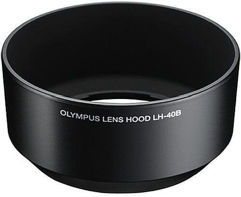 Olympus LH-40B Black Lens Hood