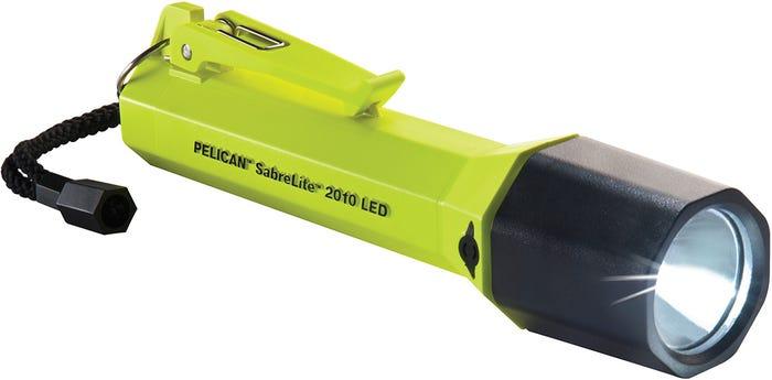 Pelican Neon Green SaberLite Xenon Torch