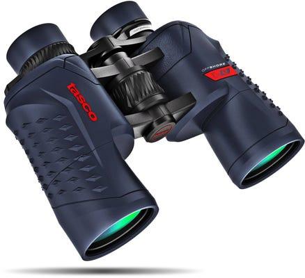 Tasco Off Shore 10x42 Waterproof Binocular - Blue