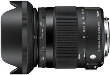 Sigma 18-200mm f/3.5-6.3 DC OS Macro Contemporary Lens - Canon