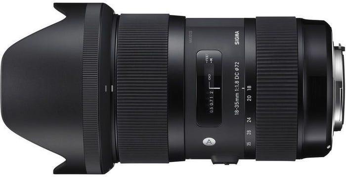 Sigma 18-35mm f/1.8 DC HSM Art Series Lens - Nikon