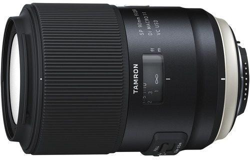 Tamron SP AF 90mm f/2.8 Di Macro VC USD Lens - Nikon