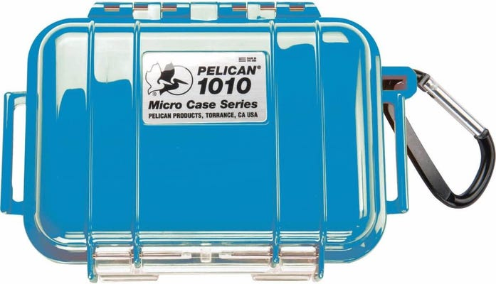 Pelican 1010 Micro Case - Blue with Black Liner