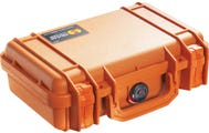 Pelican 1170 Orange Case with Foam