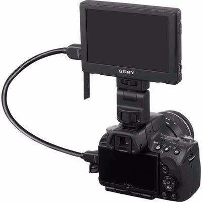 "Sony 5"" Portable WVGA LCD Monitor"