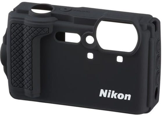 Nikon Black Silicone Jacket for W300