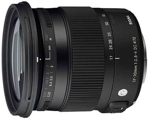 Sigma 17-70mm f/2.8-4 DC OS Macro HMS Contemporary Lens - Nikon