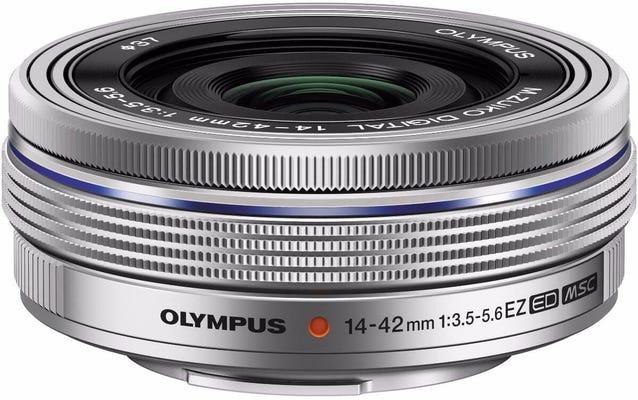 Olympus 14-42mm f/3.5-5.6 EZ Silver Lens