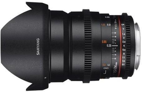 Samyang 24mm T1.5 Sony FE Mount Full Frame Lens