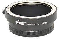 Kiwi Mount Adapter - Canon EF Lens - Canon M Camera - LMA-EF_C/M
