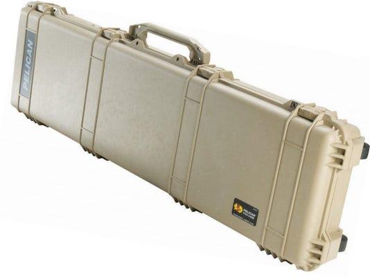 Pelican 1750 Desert Tan Weapons Case with Foam