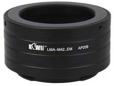Kiwi Mount Adapter - M42 Lens - Sony E Camera