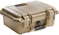 Pelican 1400 Desert Tan Case
