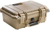 Pelican 1400 Desert Tan Case with Foam