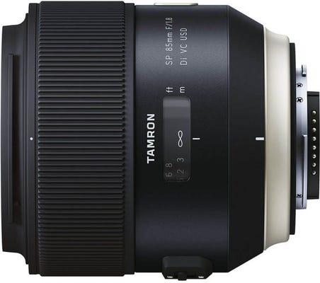 Tamron SP AF 85mm f/1.8 Di VC USD Lens - Nikon